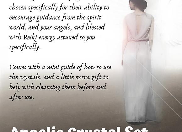 Angelic Crystal Healing Set
