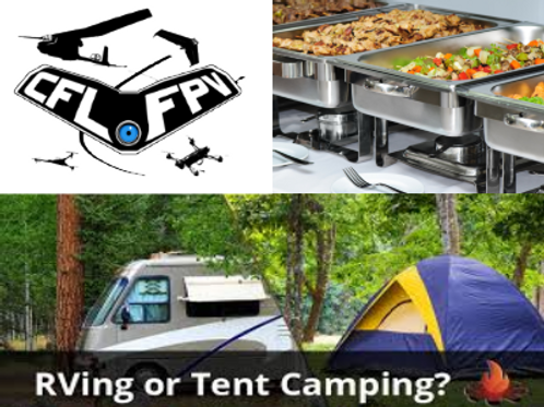 Complete Package with RV or Tent Camping (1 Pilot)
