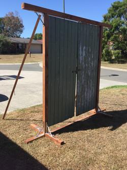 Vintage Door Arbour