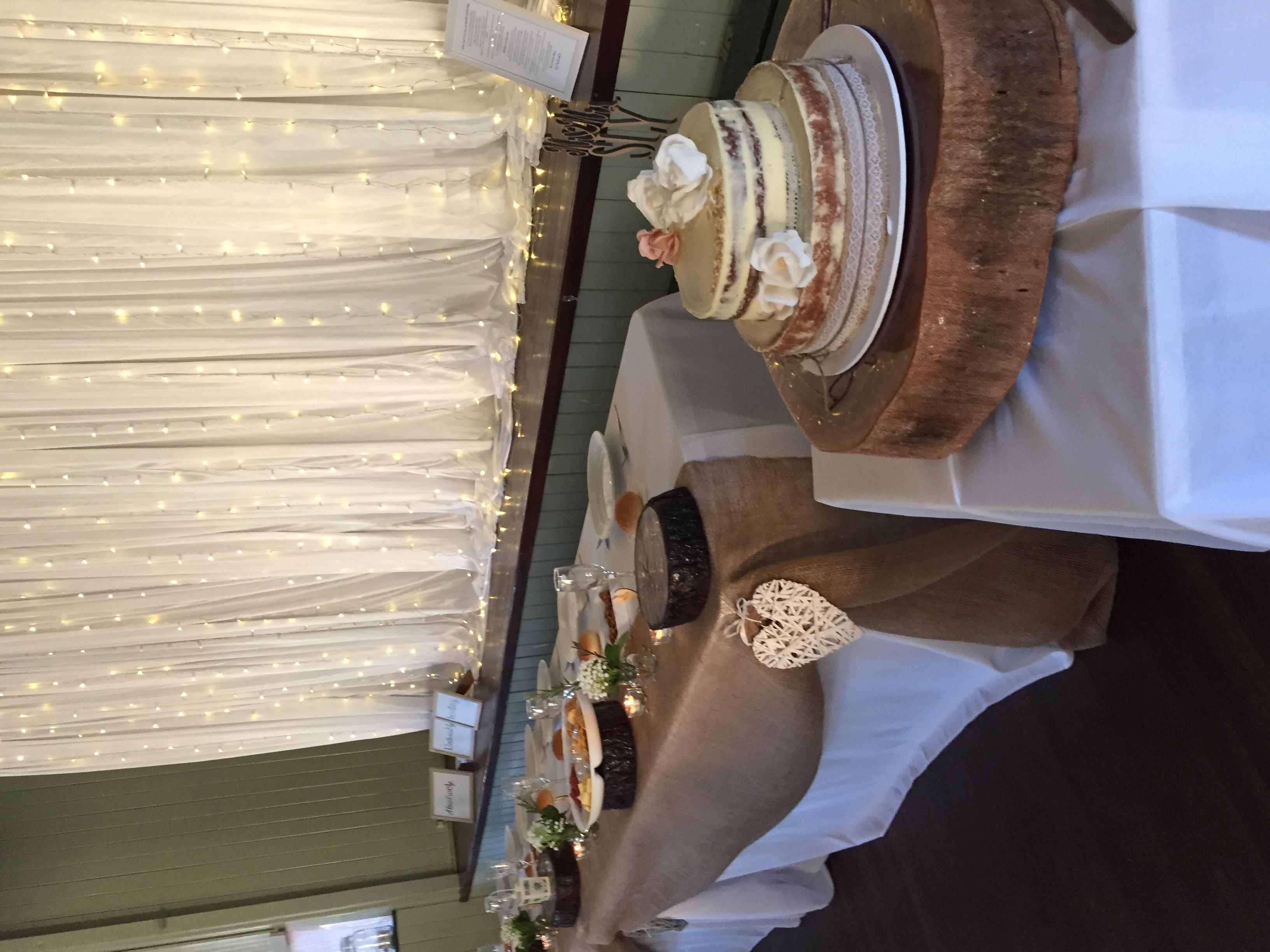 Wooden Cake Round