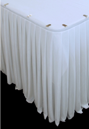 Bridal Table Skirting