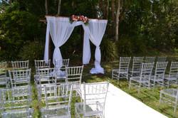 Clear Crystal Tiffany Chairs