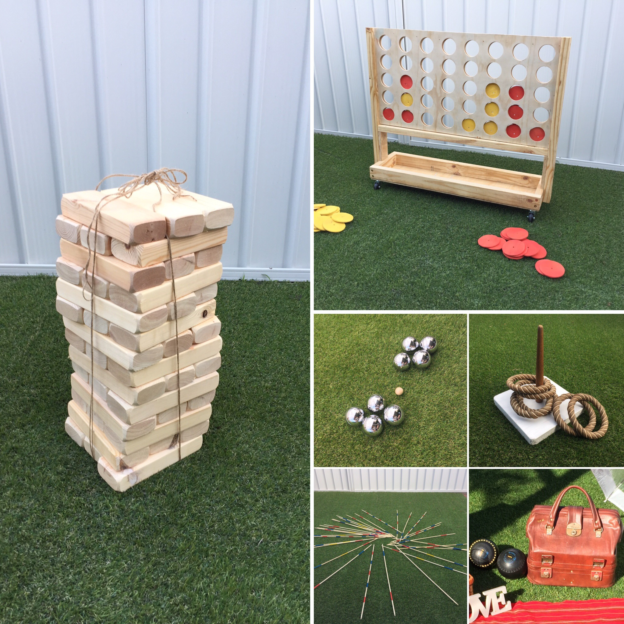 Lawn Games Package
