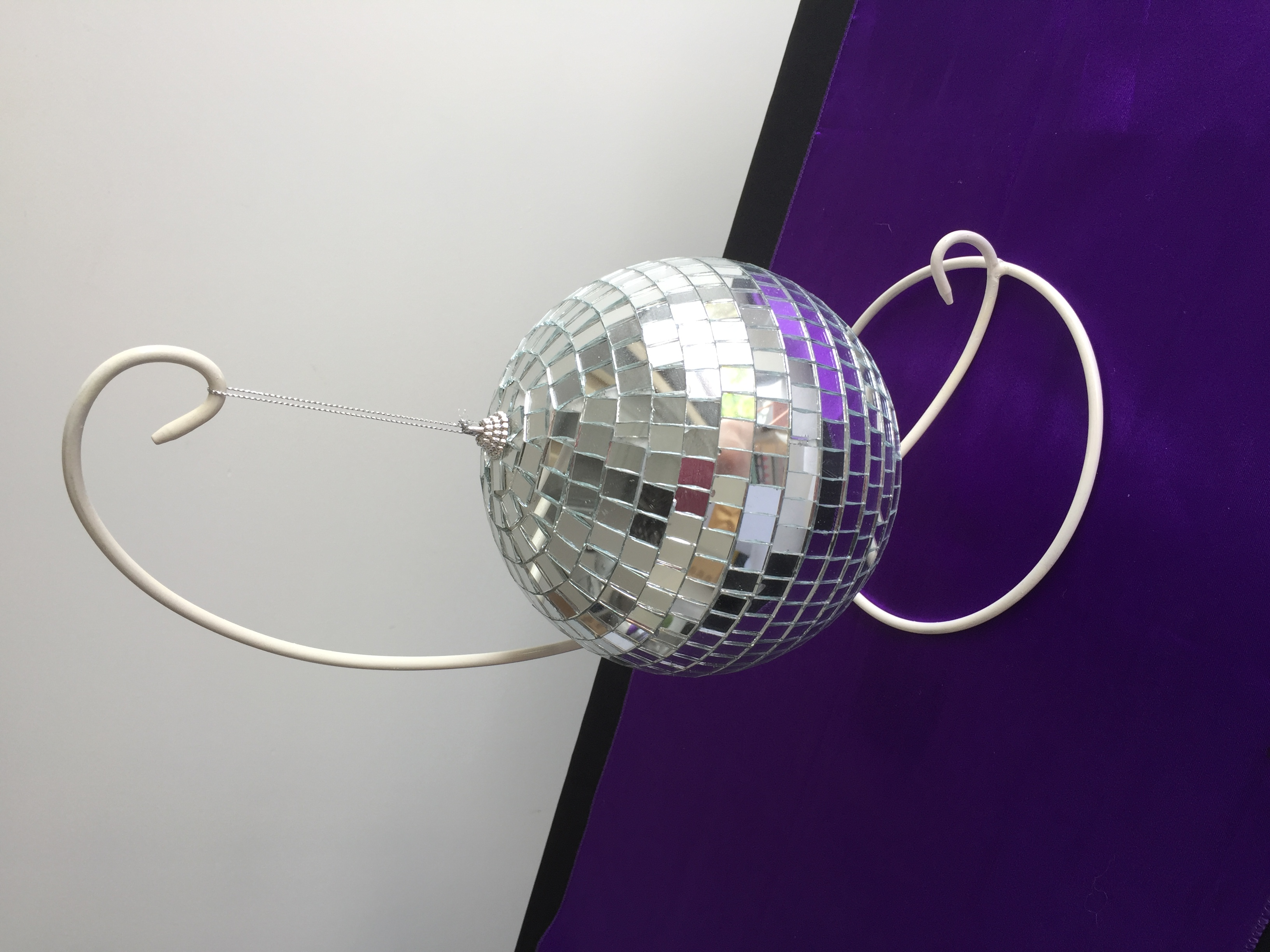 Disco ball with stand