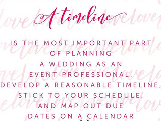 MBK Events Top Wedding Tip #4