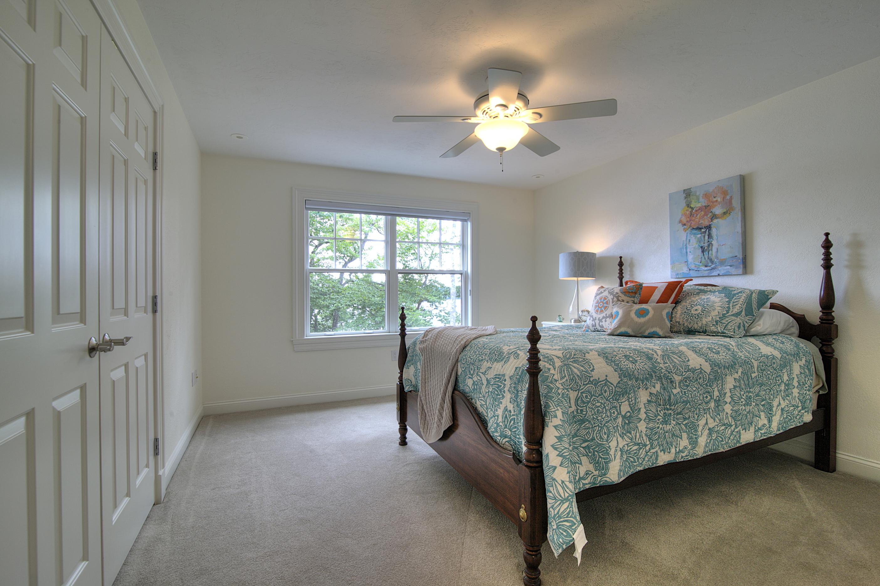 Lake house bedroom decor
