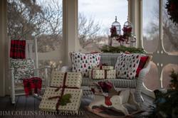 holiday decor, porch