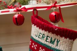 holiday decor, stocking
