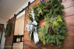 holiday decor, wreath