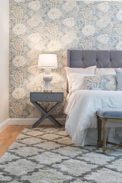 Grey & White Master Bedroom