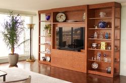 Custom TV wall unit