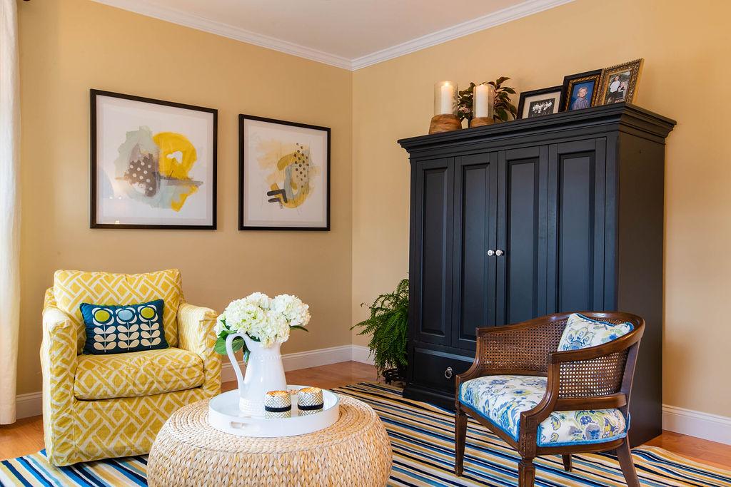coastal inspired living room decor