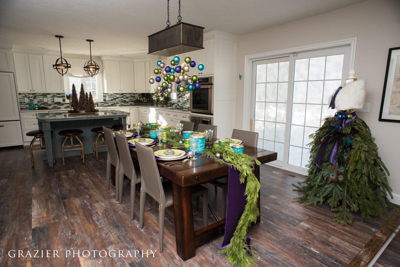 christmas decor, table setting
