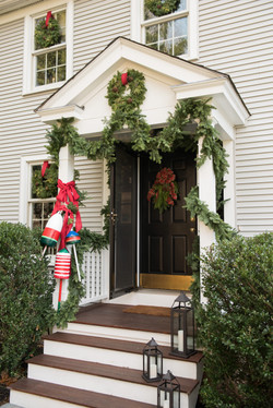 nautical outdoor holiday decor