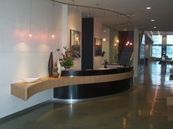 Jacksonville lobby reception desk