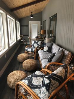Maine screen porch
