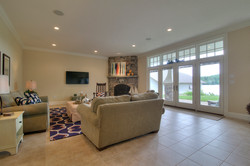 Lake Winnipesaukee family room