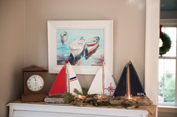 coastal inspired holiday decor