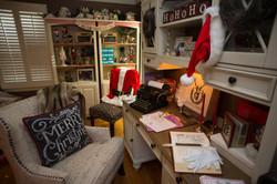 holiday decor, Santa's office