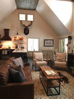 Maine family room design