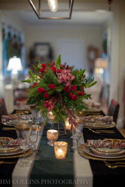 holiday dining room design