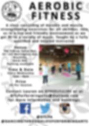 DTLPA Aerobic fitness poster