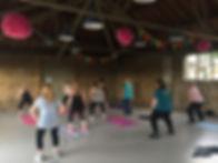DTLPA Aerobic Fitness class
