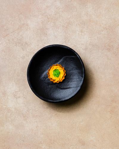 Clam, Saffron, Nasturtium