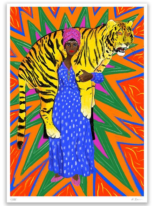 Tiger Woman, A3