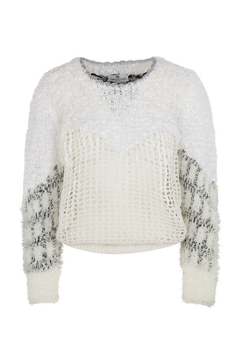 Kylie White Pullover