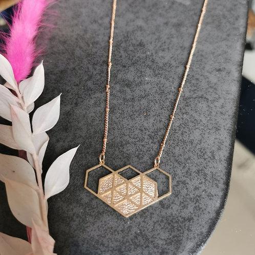 Brass Heart (Gold plated)