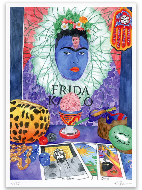 Reading with Frida, A4