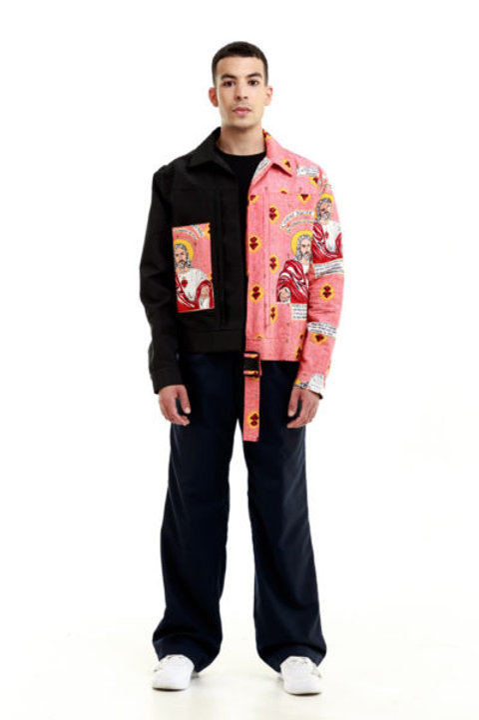 Half-man Half-Jesus Jacket