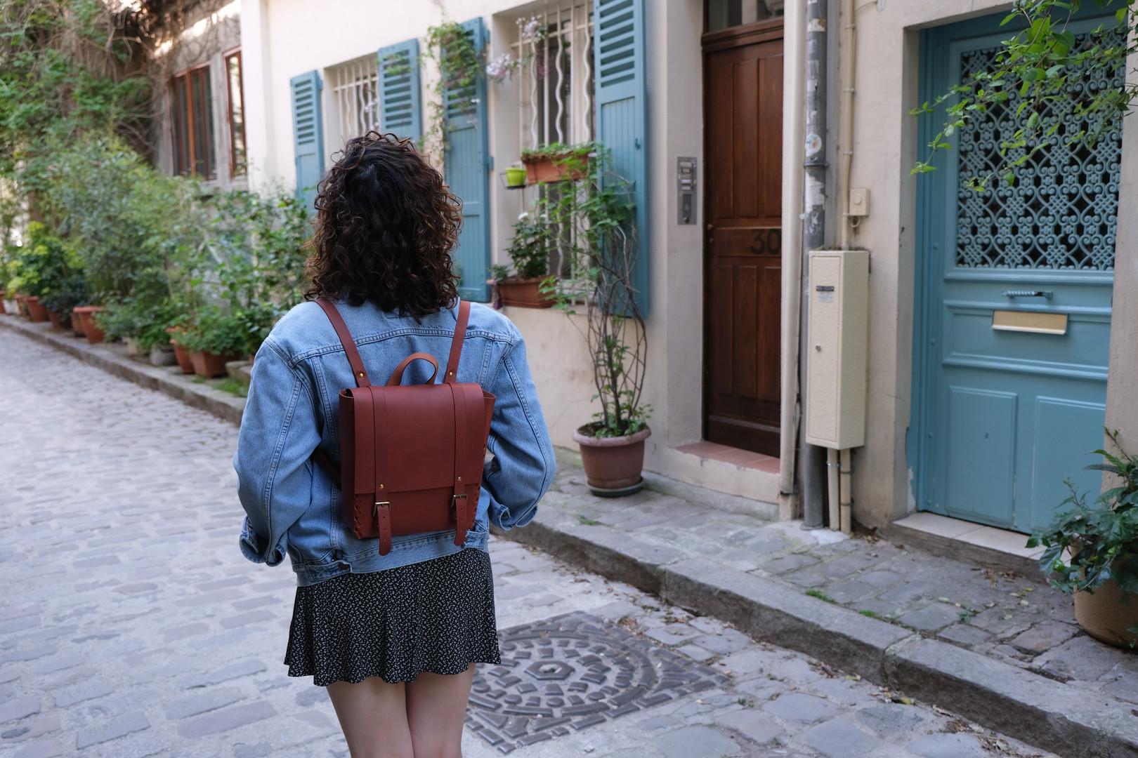 Futamacá Backpack Plum