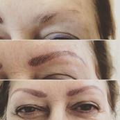 Tatouage de sourcils, avant et après !
