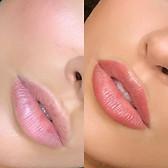 Lip blushing !