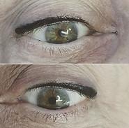 Ligne eyeliner tatouage noir !