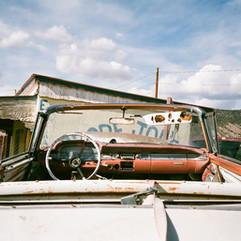"Sean Ratliff Ode toSteven Shore(Velarde, New Mexico),2016 Color photograph 18"" x 14"" Courtesy of the artist"