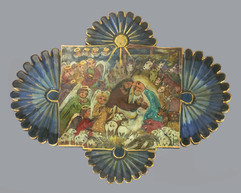 Lydia Garcia Come Lord Jesus, 2000 entire piece: 28 × 33 × 1 in. (71.1 × 83.8 × 2.5 cm) Private Collection