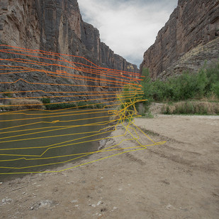 Jess Peri Mexico- United States Border: 4.21.1863 2018 Archival Pigment Photograph 20 x 30 x 1 in.