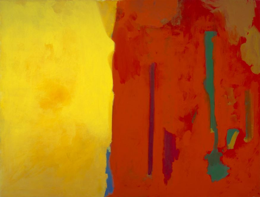 Although they never created a formal group such as the Taos Society of Artists had done, they changed the artistic direction of the community.   Louis Ribak Red & Yellow Abstract, c. 1960 Oil on canvas Overall: 44 x 58 in. (111.8 x 147.3 cm) Gift of the Mandelman-Ribak Foundation Harwood Collection