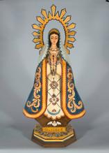 Lorrie Garcia Patrona de la Santa Fe, 2004 entire piece: 38 × 18 × 9 1/2 in. (96.5 × 45.7 × 24.1 cm) Courtesy of the Artist