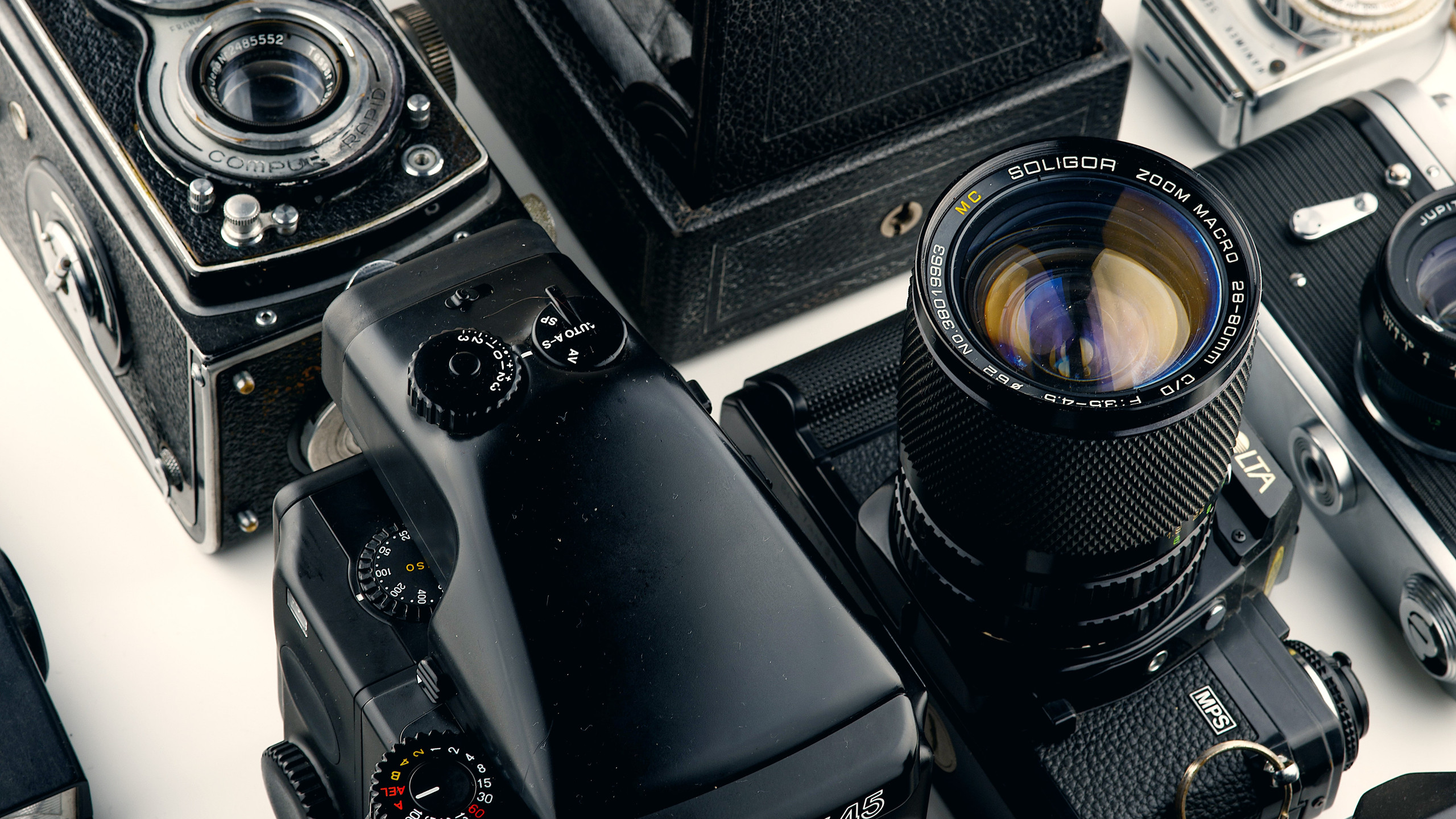 Camera and lenses used for event photography