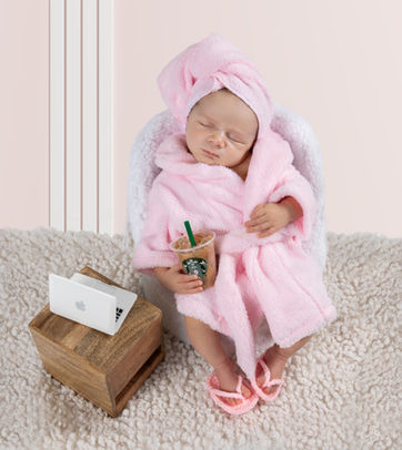 Spa newborn photoshoot