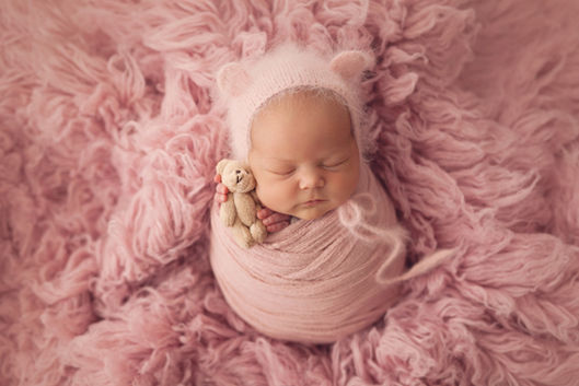 Newborn photography baby wraps