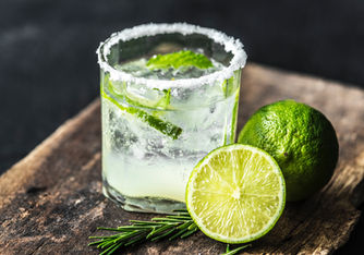 Mojito Cocktail with a Lime - Drink photography in Dubai