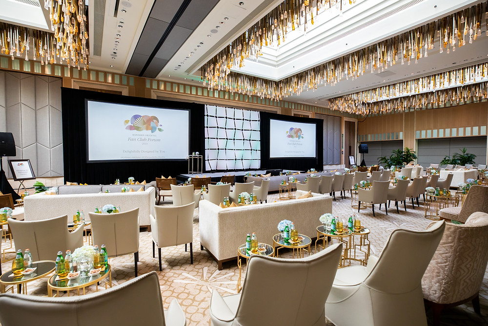 event photography and videography for mandarin oriental hotel in Dubai
