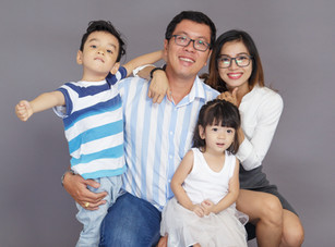 Happy Family Photoshoot - Best Family Photography in Dubai
