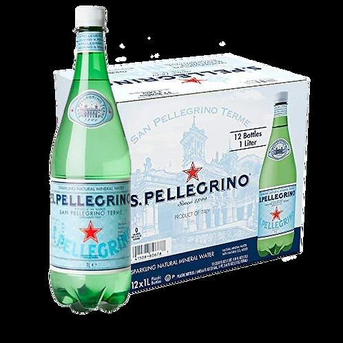 San Pellegrino Sparkling Mineral Water  (1L x 12's)