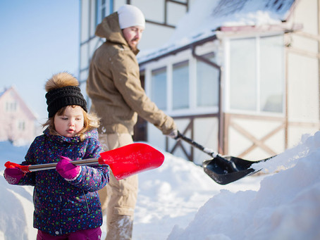 Ways to Avoid Back Pain When Shoveling Snow
